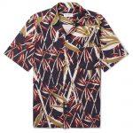 Rangi Camp - Collar Printed Cotton Shirt