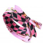 Gucci - Printed silk headband