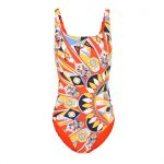 Tory Burch - Kaleidoscope tank swimsuit