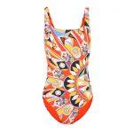 Tory Burch - Kaleidoscope tank swimsuit