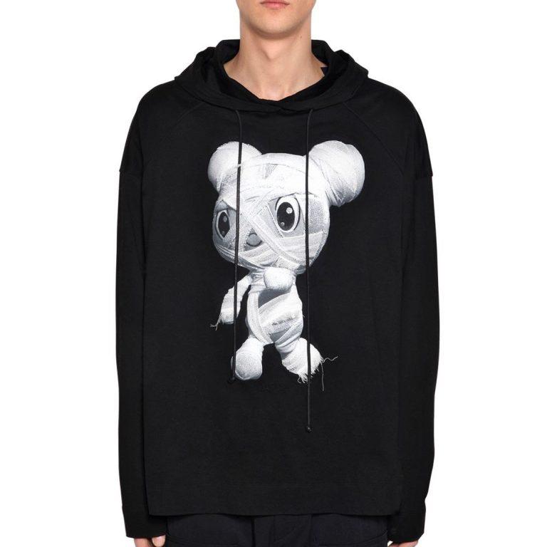 Juun.J - Oversize hooded zafar cotton sweatshirt