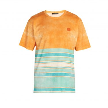 Acne Studios - Striped cotton T-shirt