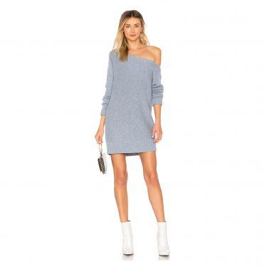 BCBGMAXAZRIA - Alayna Oversize Sweater Dress