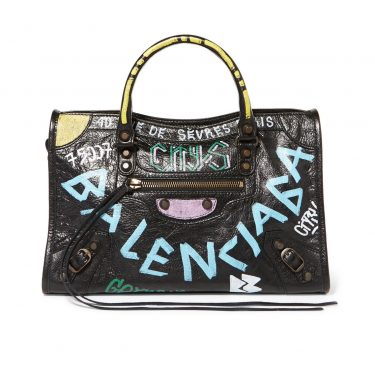 Balenciaga - Classic City Printed Leather Tote