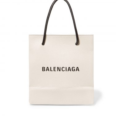 Balenciaga - Printed Leather Tote