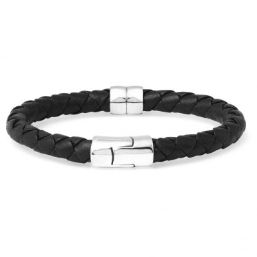 Bottega Veneta - Leather & Silver Bracelet