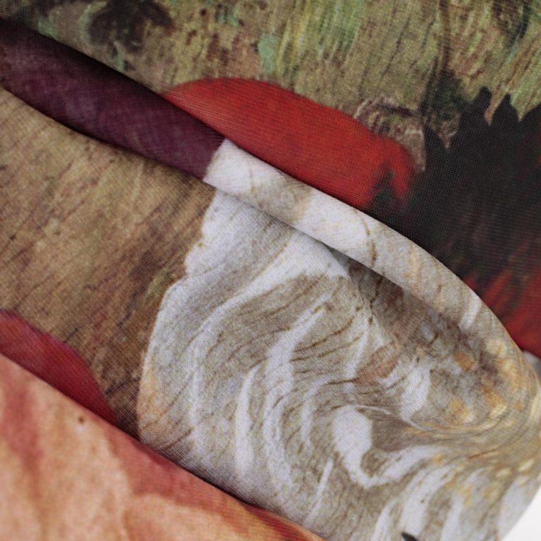 Comme Des Garçons - Multicolored Renaissance Dress