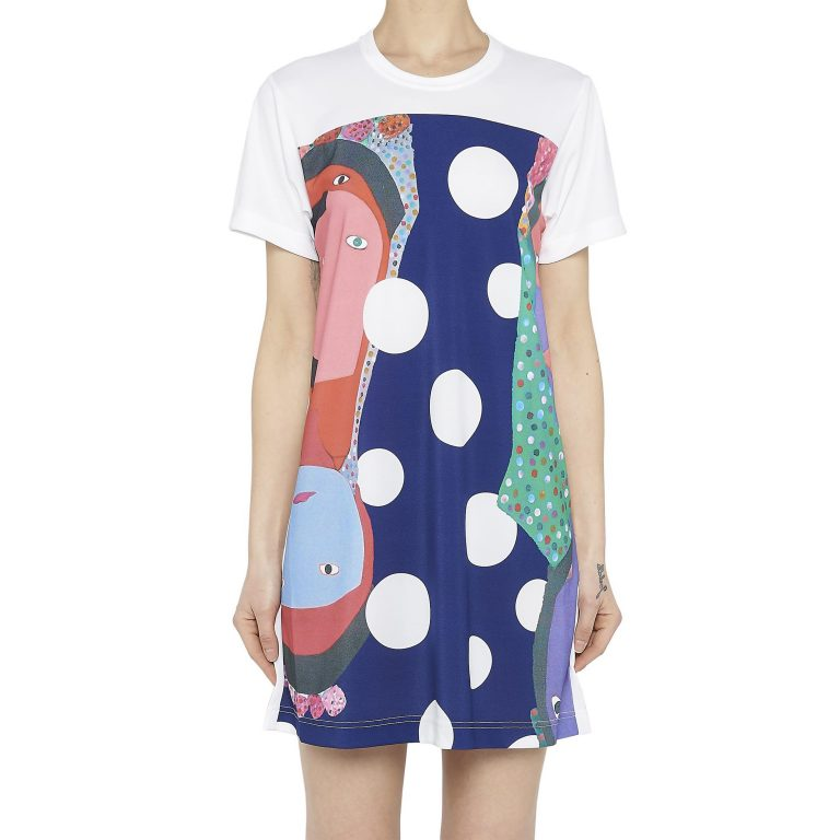 Comme Des Garçons - Printed Dress