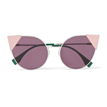 Fendi - Embellished Cat-Eye Sunglasses