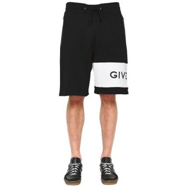 Givenchy - Logo Embroidered Shorts