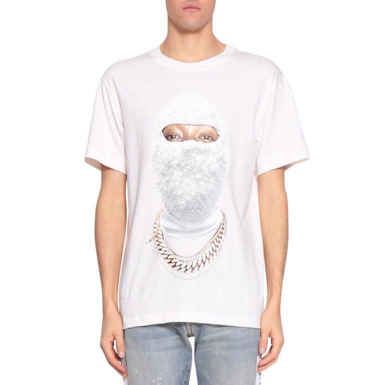 Ih Nom Uh Nit - Gold Face Cotton T-shirt