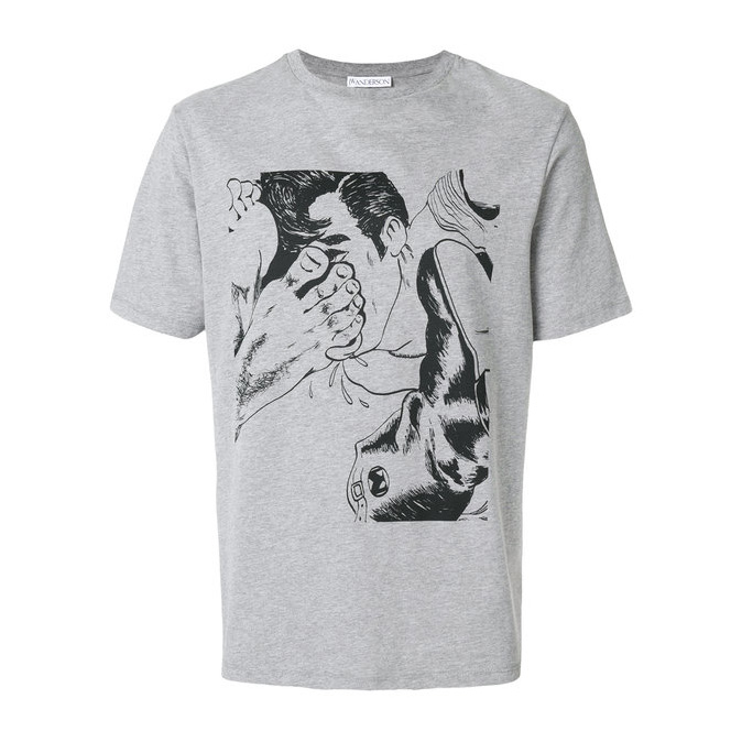 JW Anderson - Footprint T-shirt