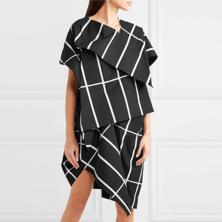 Junya Watanebe + Marimekko Tiiliskivi - Asymmetric Dress