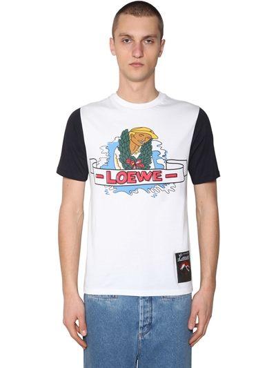Loewe - Printed Cotton T-shirt