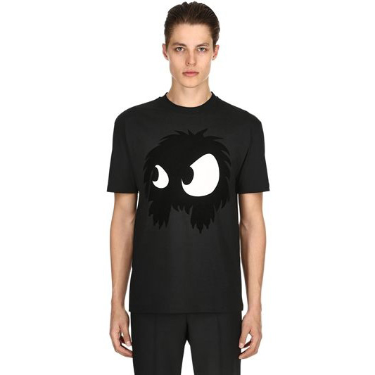 MCQ Alexander McQueen - Monster Flocked T-shirt