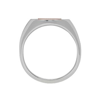 Maison Margiela - Silver & Orange Ring