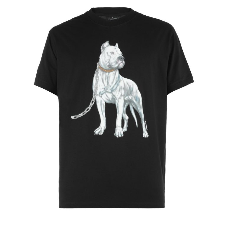Marcelo Burlon - Dog Cotton T-shirt