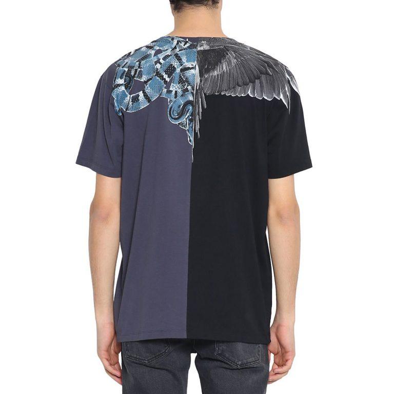 Marcelo Burlon - Wings Snake Cotton T-shirt