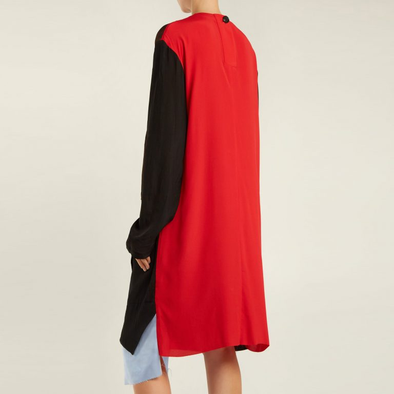 Marni - Colour-Block Patchwork Dress