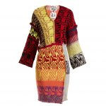 Matty Bovan - Patchwork V-neck Dress