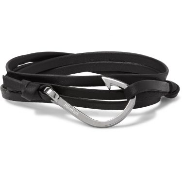 Miansai - Leather & Silver-Plated Bracelet