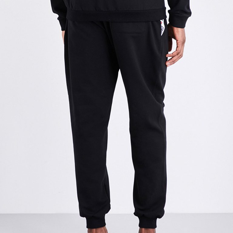 Moschino - Tape-Detail Jogging Bottoms