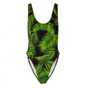 Norma Kamali - Marissa printed swimsuit