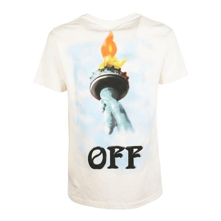 Off-White - Liberty Slim T-shirt