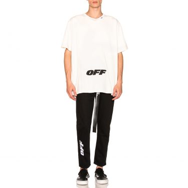 Off-White - Wing Off Oversized Tee