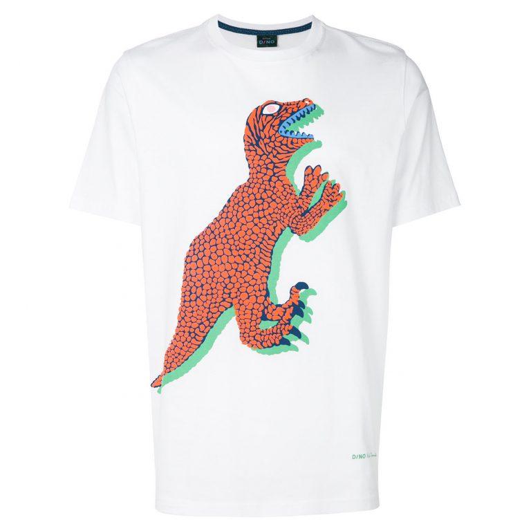 PS By Paul Smith - Dinosaur Print T-shirt