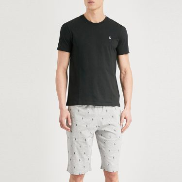 Polo Ralph Lauren - Printed Cotton-Jersey Shorts