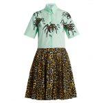 Prada - Spider & Leopard-Print Shirtdress