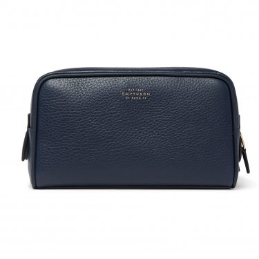 Smythson - Burlington Full-Grain Leather Wash Bag