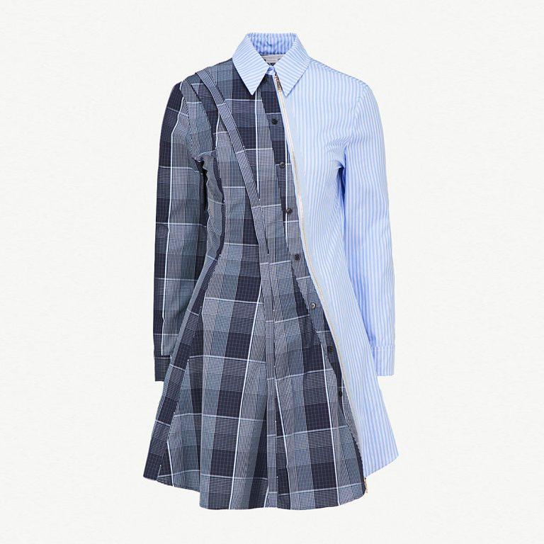 Stella McCartney - Contrast-Panel Cotton Dress