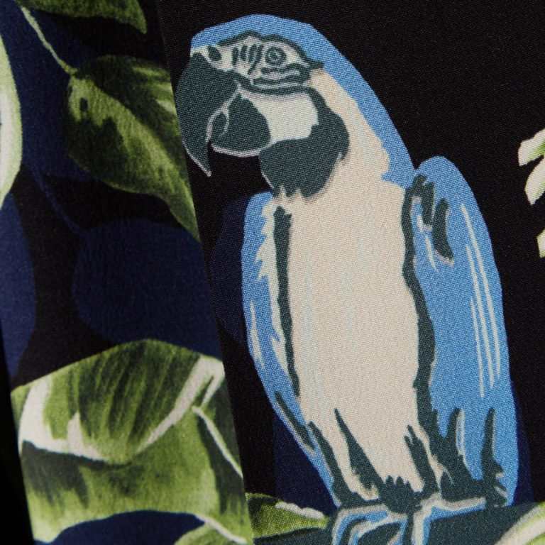 Stella McCartney - Printed silk crepe de chine tapered pants