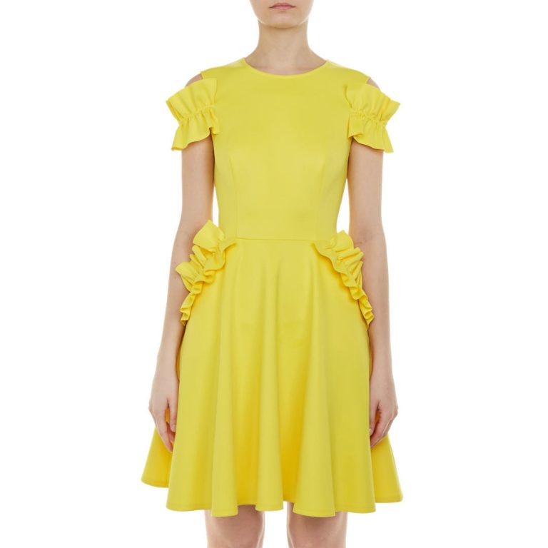 Ted Baker - Deneese Ruffle Detail Dress