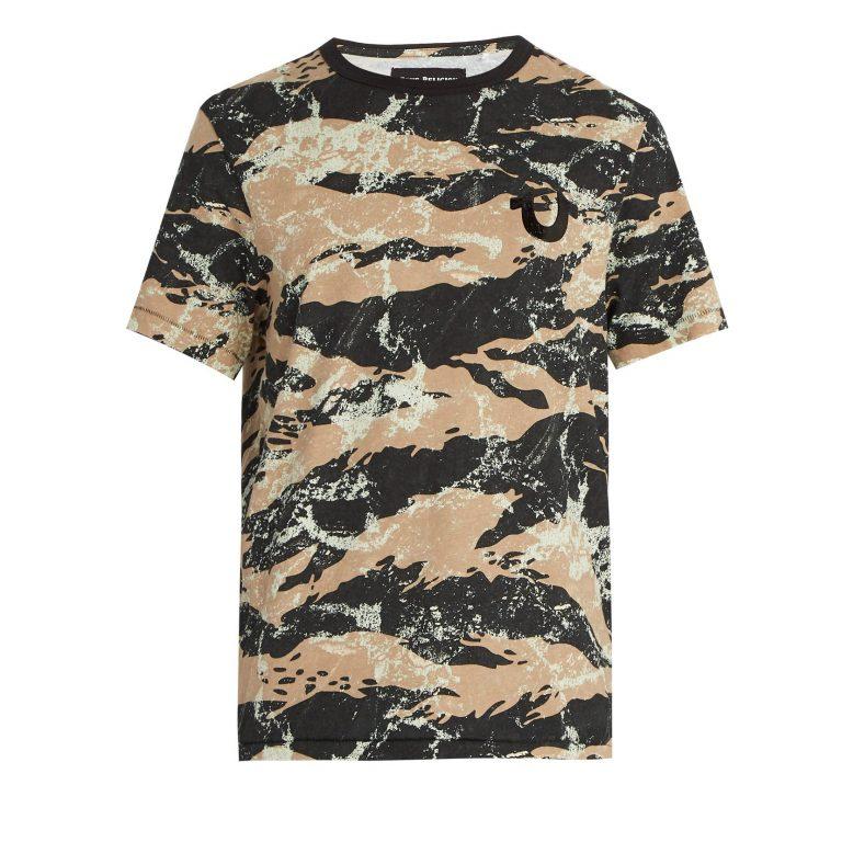 True Religion - Camouflage-Print Cotton T-shirt