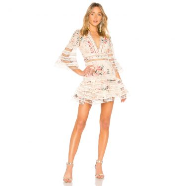 Zimmermann - Laelia Diamond Flutter Dress