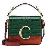 Chloé - C Mini leather shoulder bag